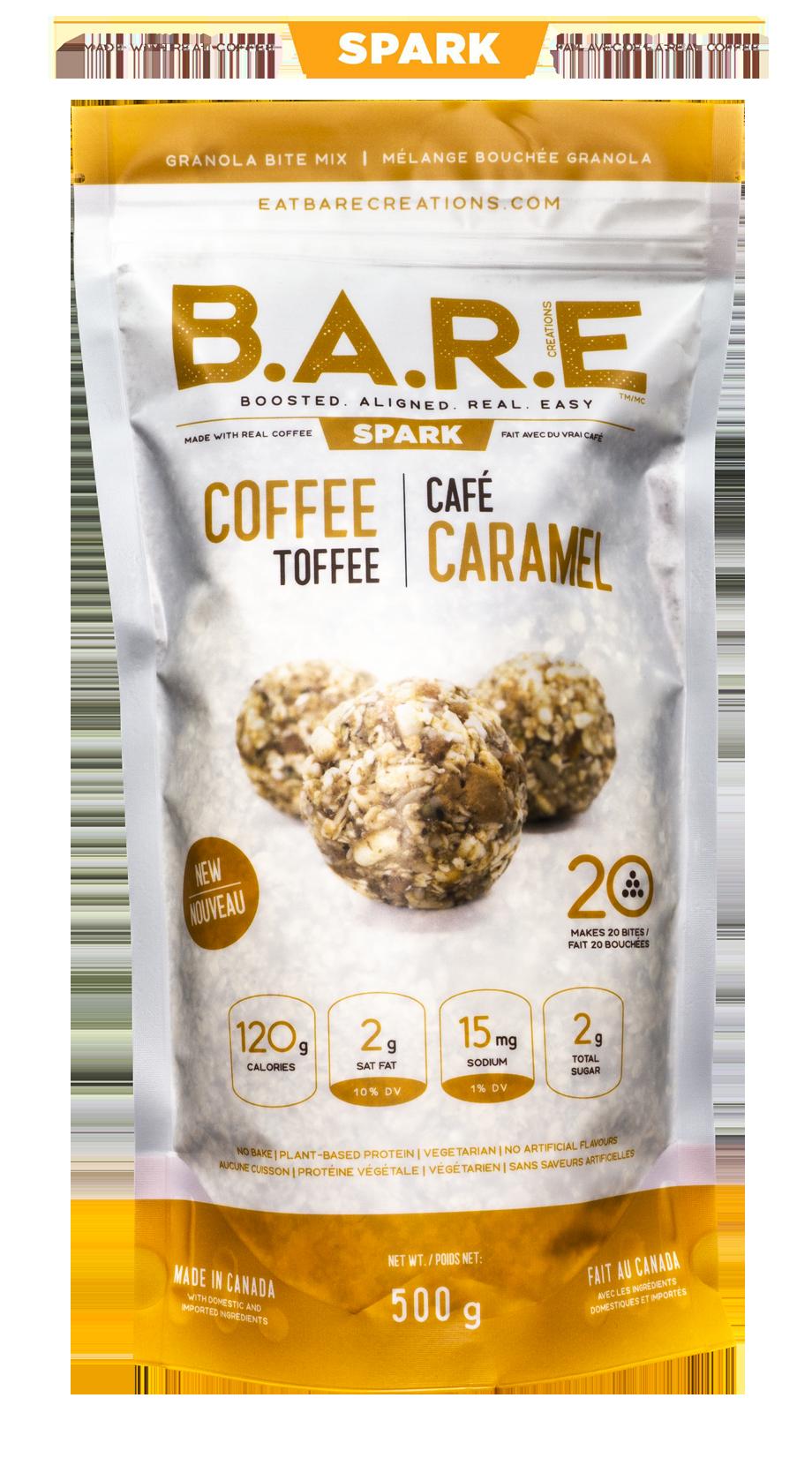 Coffee Toffee Granola Bite Mix