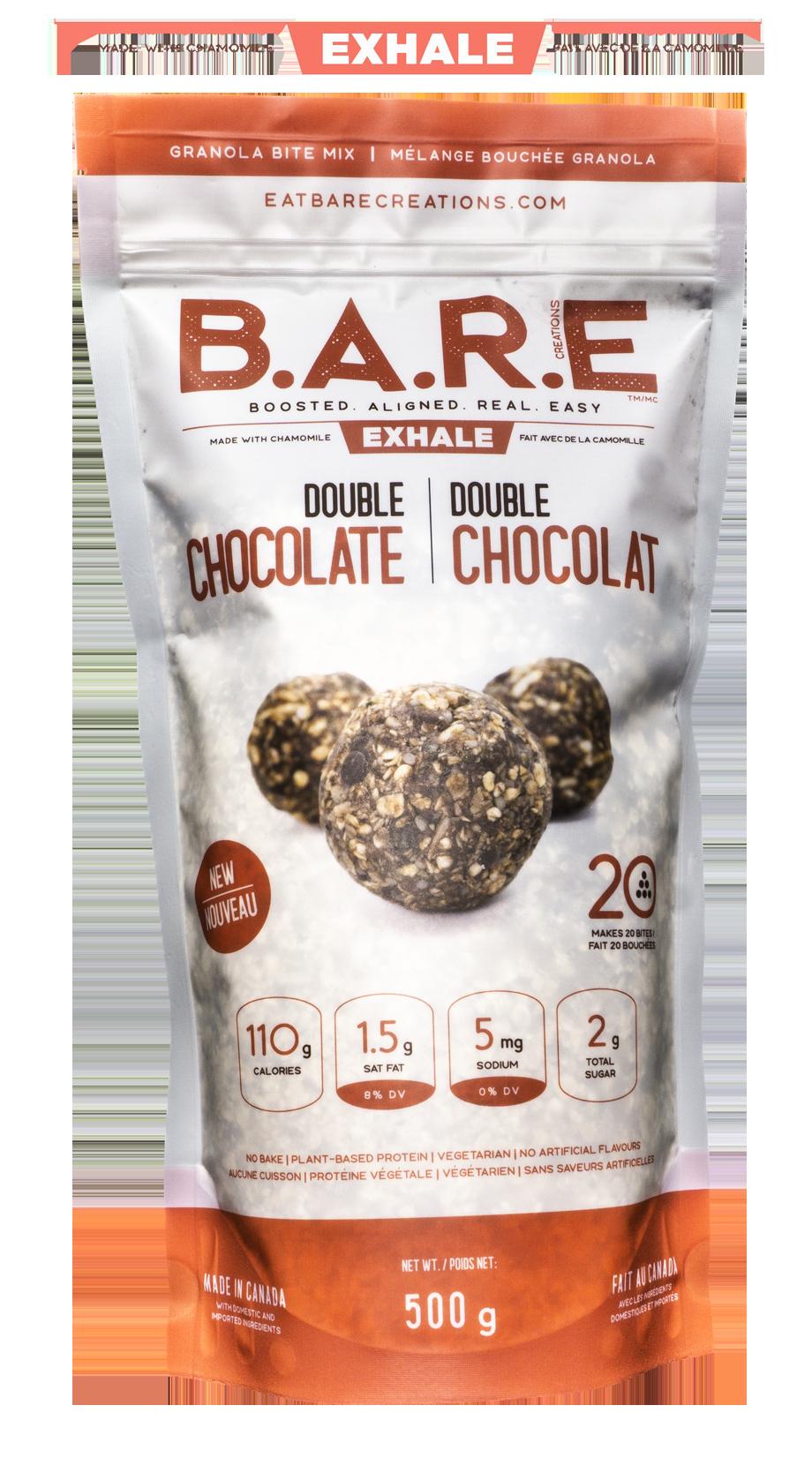 Double Chocolate Chamomile Granola Bite Mix