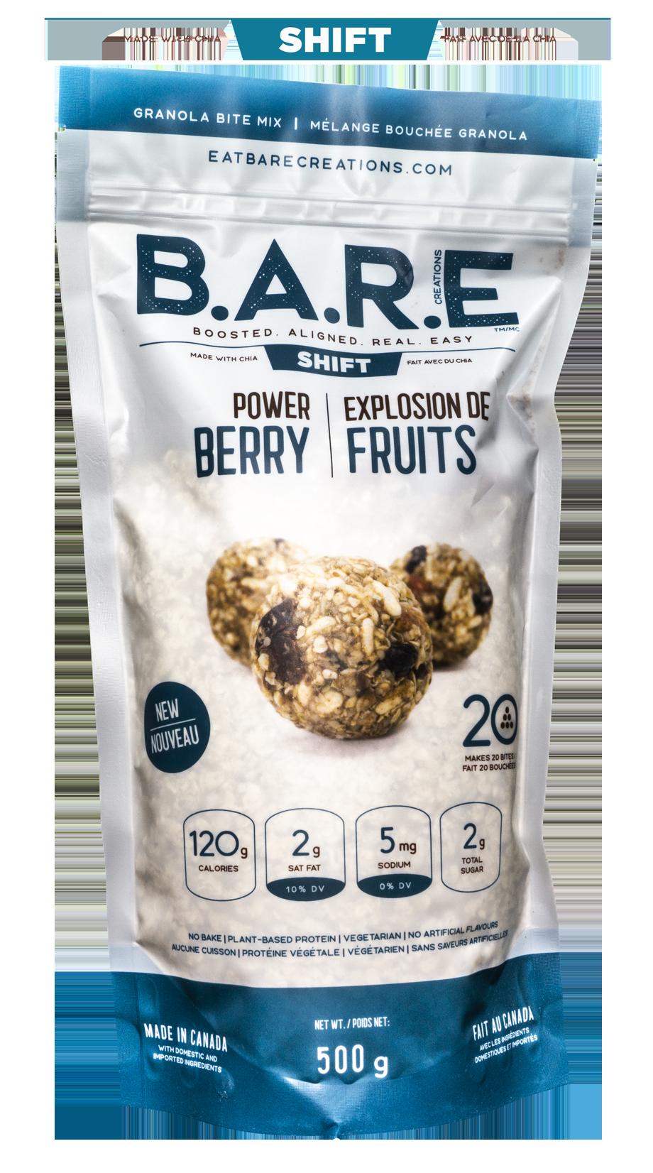 Power Berry Chia Granola Bite Bar Mix
