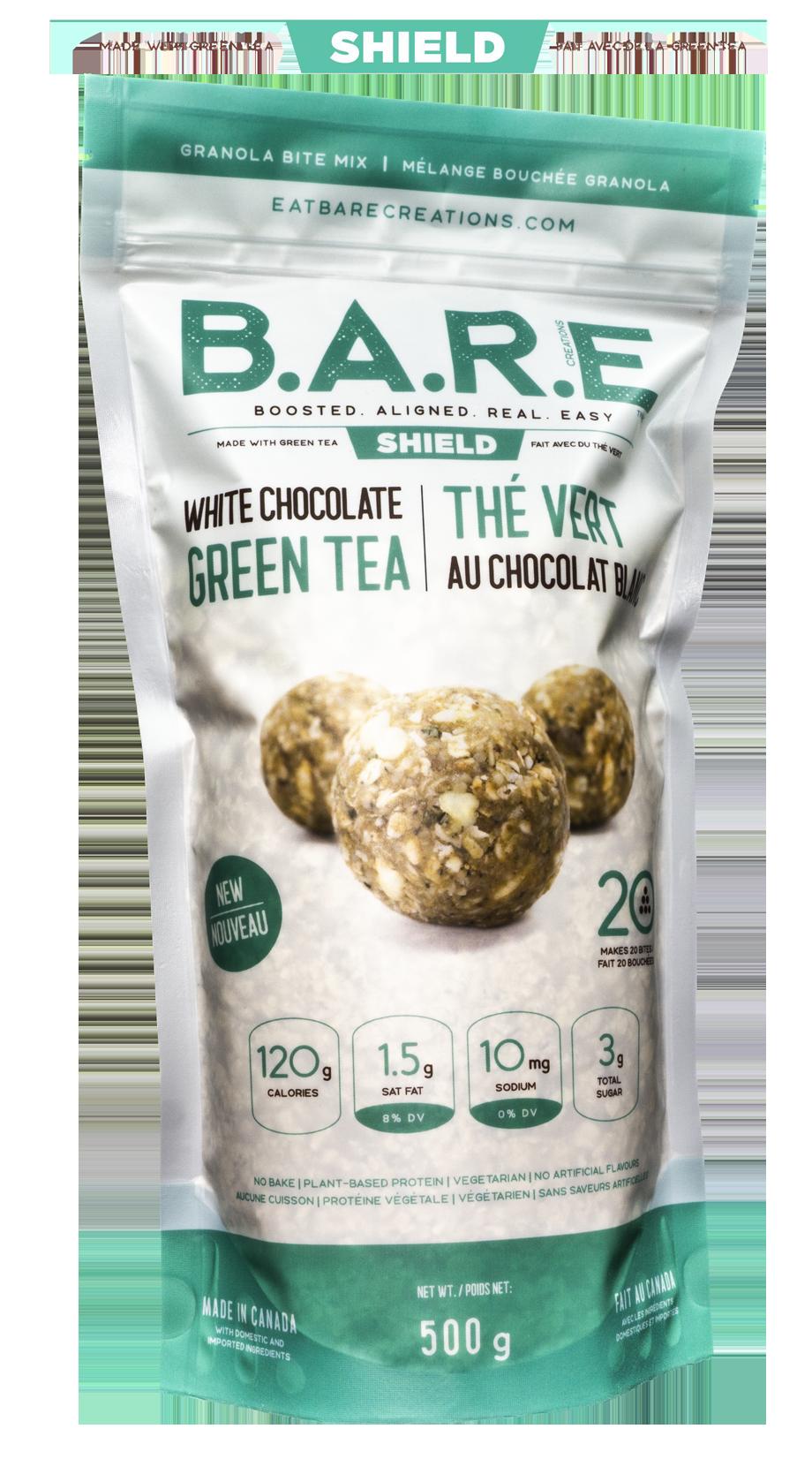 White Chocolate Green Tea Granola Bite Bar Mix